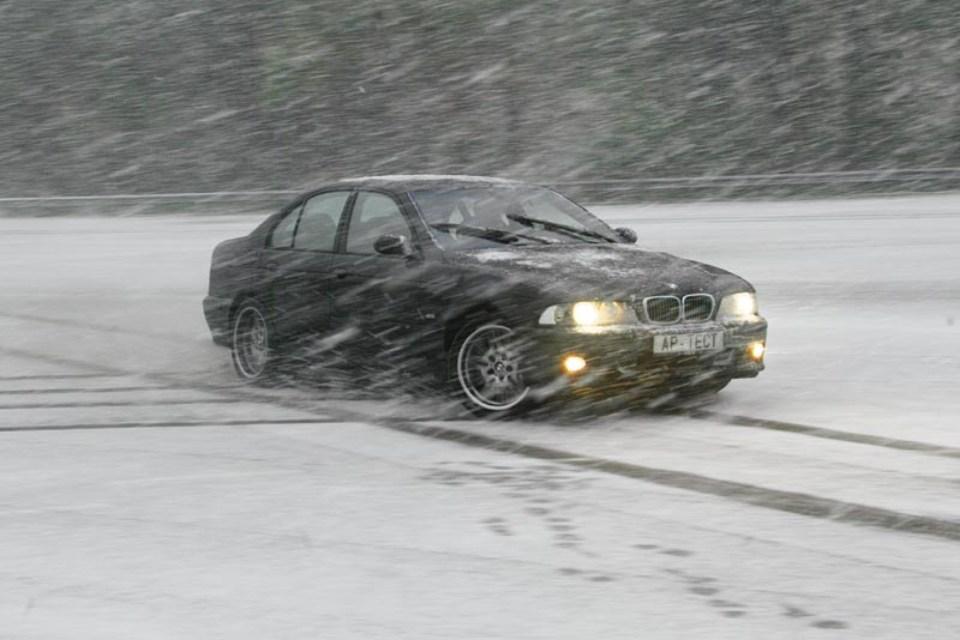 Уход за машиной в зимнее время