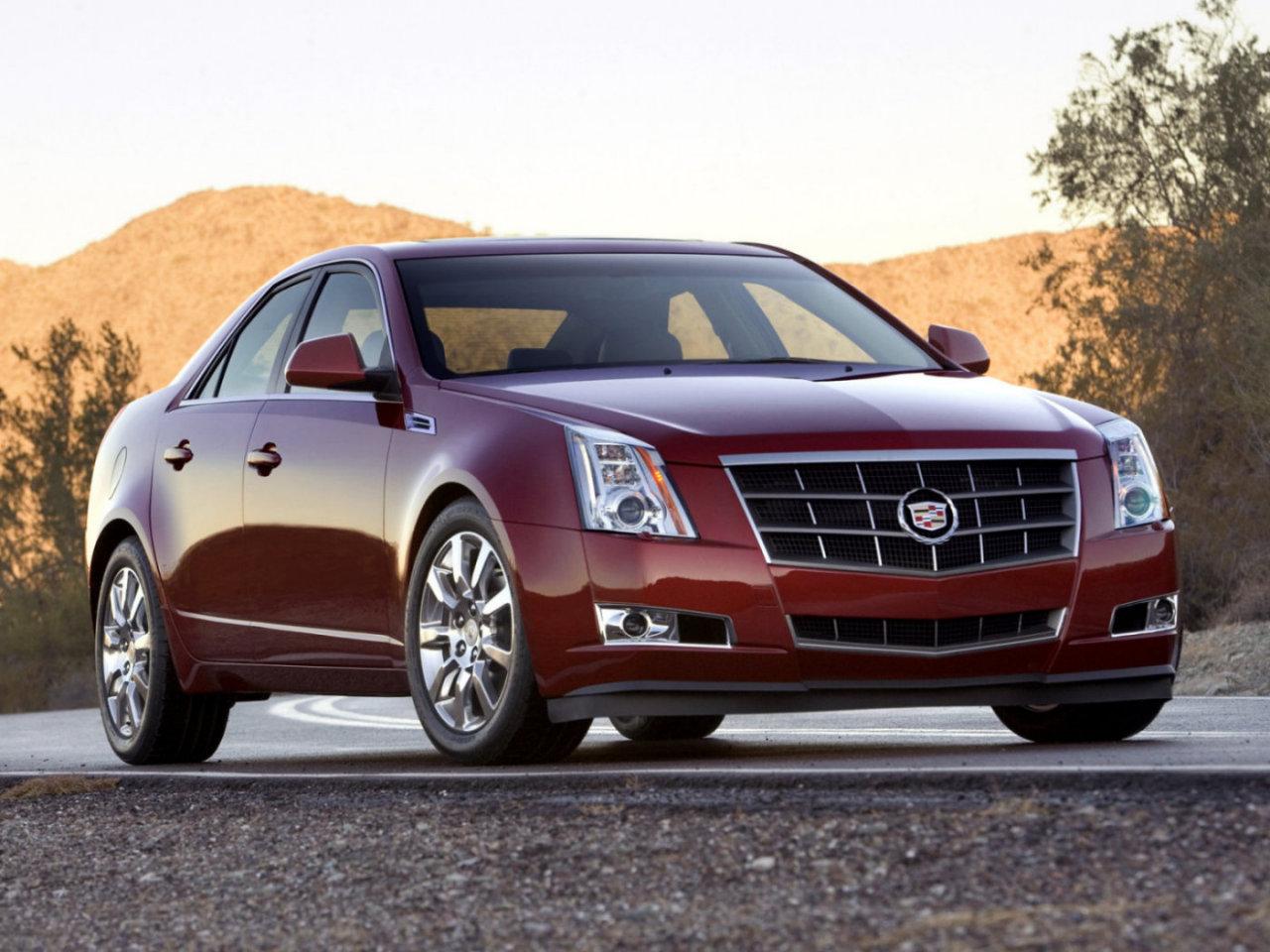 Новый бизнес-седан Cadillac CTS появился в украинских автосалонах