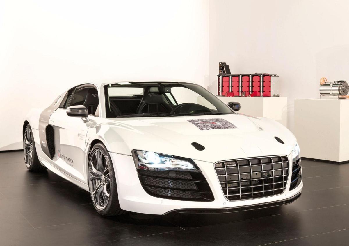 Новая электрическая Audi F12 e Sport