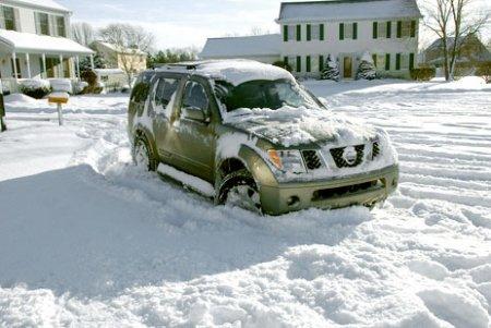 Уход за автомобилем в холодную пору года