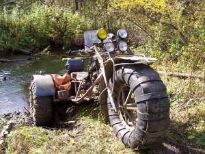 Квадроцикл-пневматик сделать или купить