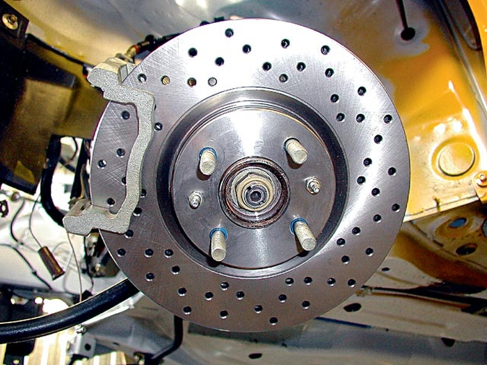 Как на ваз сделать дисковые тормоза на