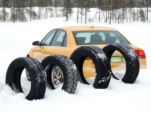Новые шины для безопасной зимней езды
