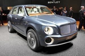 Bentley Falcon: создан для бездорожья